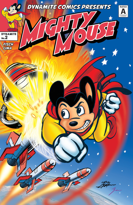 Mighty Mouse #1-5 (2017) Complete